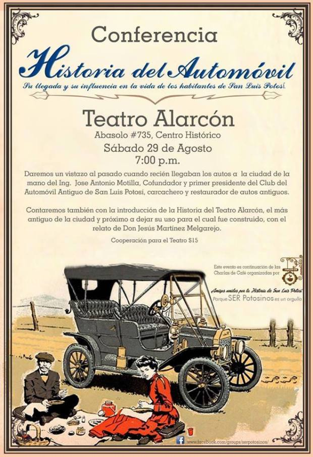 Conferencia Historia del Automovil