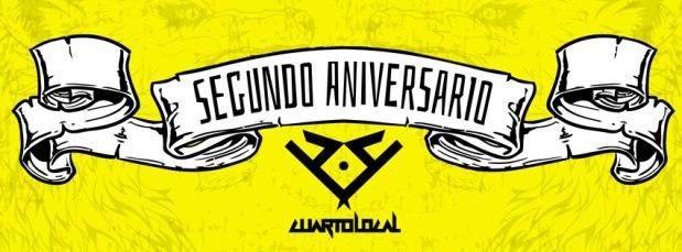 Segundo Aniversario de Cuarto Local @ Rockabilly Bar