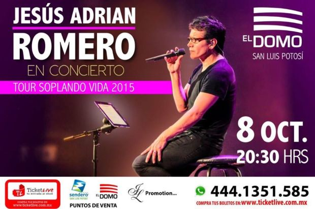 Jesús Adrian Romero en San Luis Potosí @ El Domo