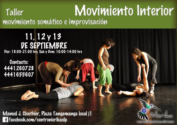 Taller movimiento interior