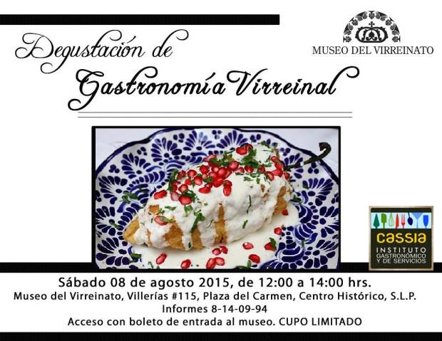 Degustación de Gastronomía Virreinal @ Museo del Virreinato | San Luis Potosí | San Luis Potosí | México