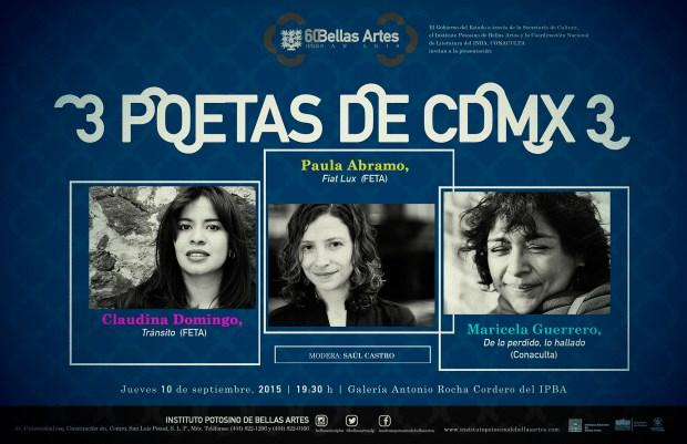 2 Poetas de CDMX 3 @ Instituto Potosino de Bellas Artes