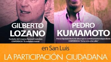 Photo of El diputado independiente Pedro Kumamoto visitará San Luis Potosí