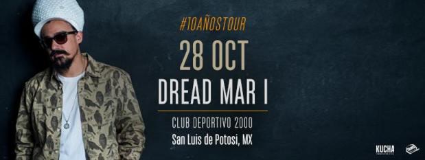 Dead Mar I en San Luis Potosí @ Club Deportivo 2000