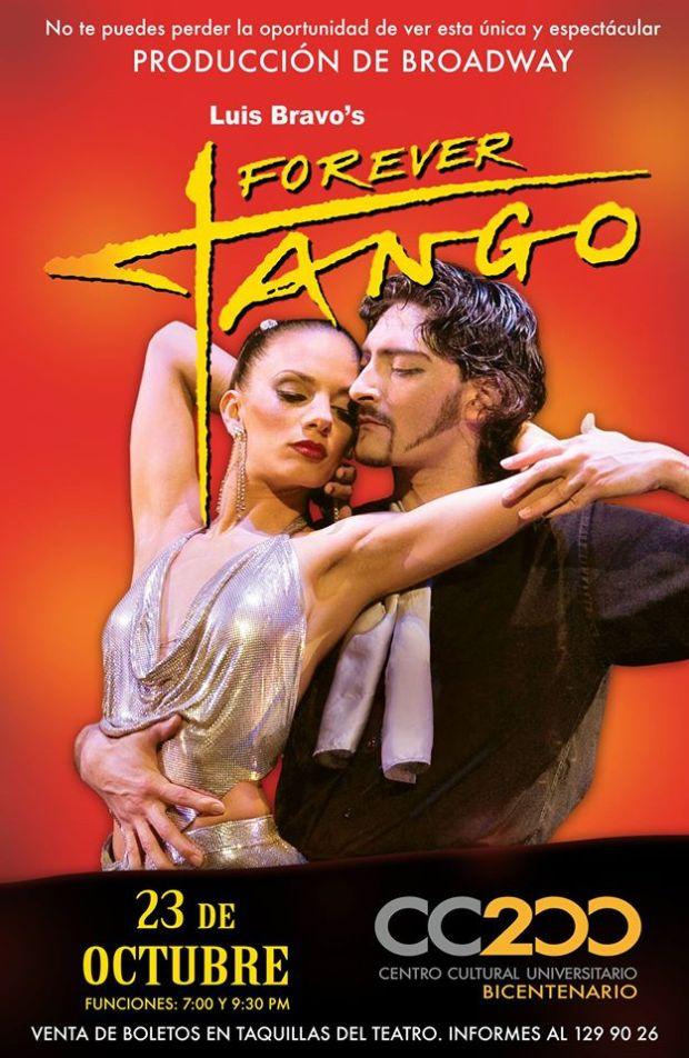 Forever Tango en San Luis Potosí @ Centro Cultural Universitario Bicentenario