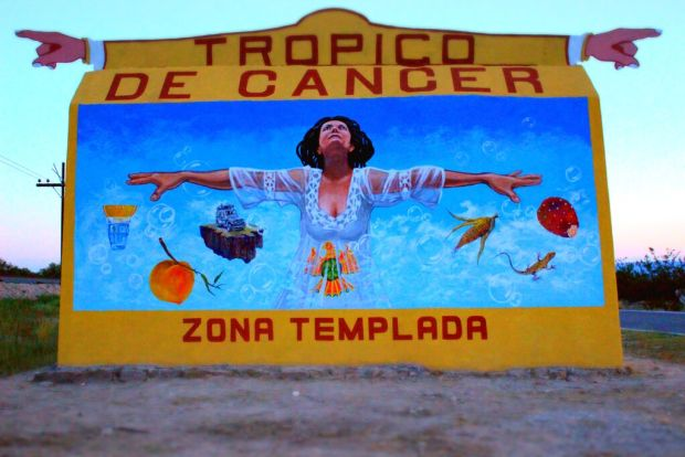 Mural trópico cáncer