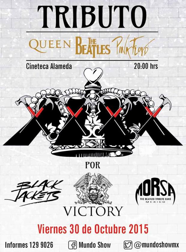 Tributo a Queen, The Beatles y Pink Floyd @ Cineteca Alameda | San Luis Potosí | San Luis Potosí | México