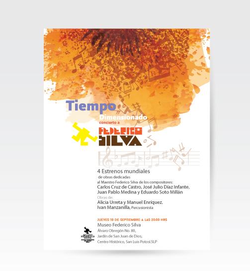 Tiempo dimensionado, concierto a Federico Silva @ Museo Federico Silva