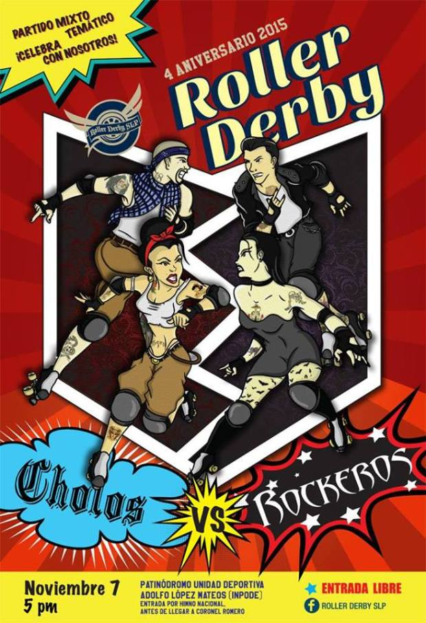 Cholos vs rockeros