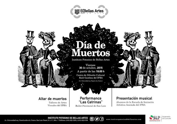Día de Muertos en el IPBA 2015 @ Centro de Difusión Cultural Raúl Gamboa