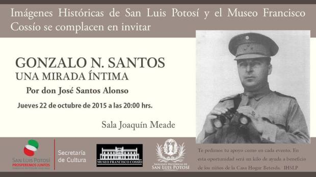 Gonzalo N. Santos, Una Mirada Intima @ Museo Francisco Cossío