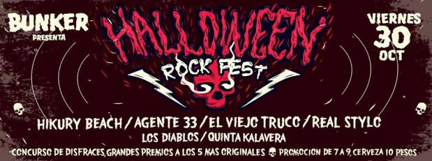 Halloween Rock Fest @ Steel Metal Bunker