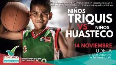 Photo of Niños triquis y niños huastecos sostendrán partido de Básquetbol