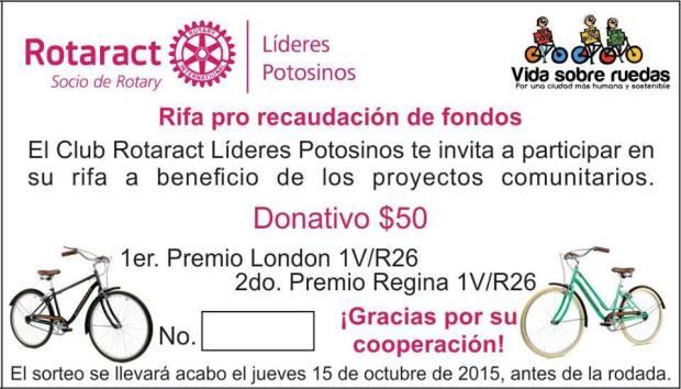 242 Rodada en apoyo a niños de escasos recursos @ Jardín de Tequis | San Luis Potosí | San Luis Potosí | México