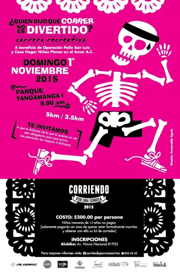 2° Carrera Corriendo por una Sonrisa @ Parque Tangamanga I | San Luis Potosí | San Luis Potosí | México
