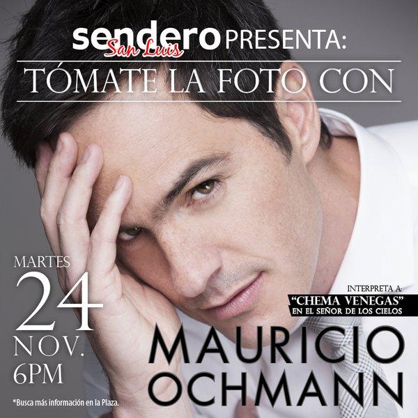 Tomate la foto con Marucio Ochmann @ Plaza Sendero | San Luis Potosí | San Luis Potosí | México