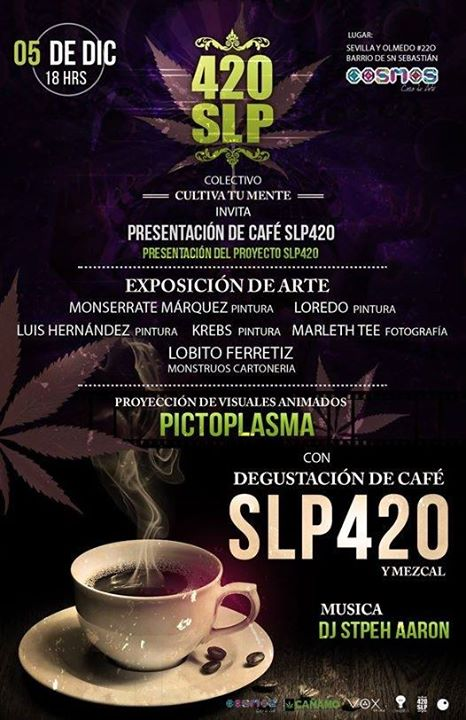 Presentación de café SLP240 @ Cosmos | San Luis Potosí | San Luis Potosí | México