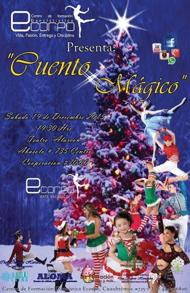 Ecorpo presenta: Cuento Navideño @ Teatro Alarcón | San Luis Potosí | San Luis Potosí | México