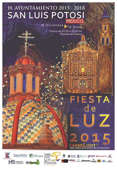 Fiesta de Luz Came Light