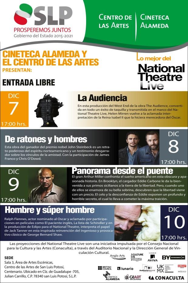 National Theatre Live San Luis Potosí @ Centro de las Artes de San Luis Potosí