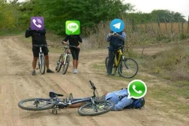 Whatsapp cae
