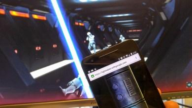 Photo of Aplicación convierte tu celular en una espada laser