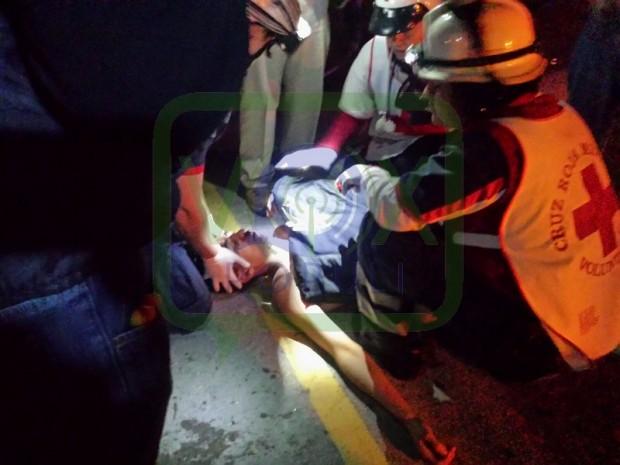 Alfonso Lastras Necaxa herido