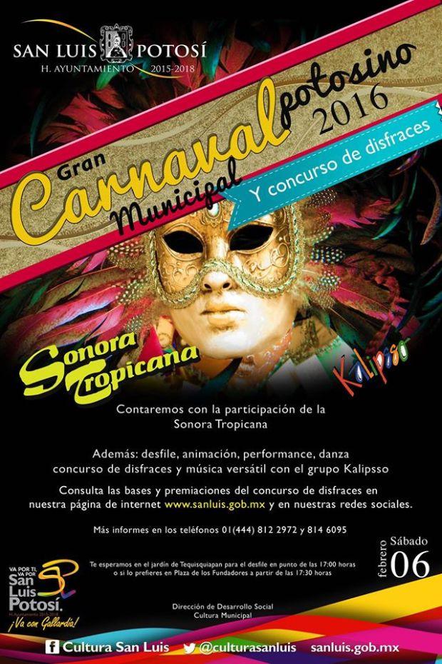 Carnaval San Luis Potosí 2016