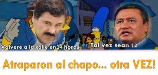 meme captura Chapo