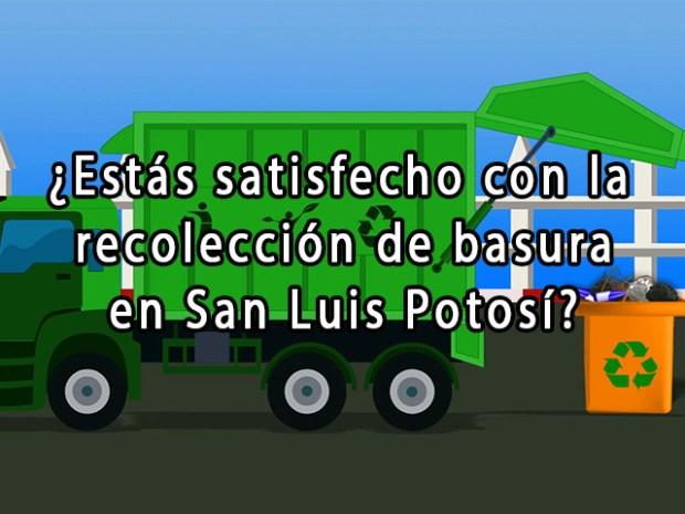 recolección basura slp