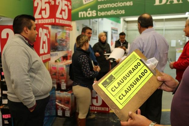CLAUSURAS..COMERCIO 1