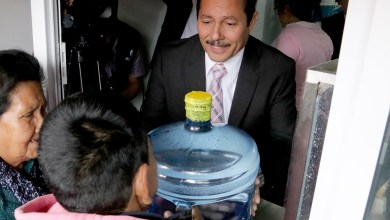 Photo of Ricardo Gallaro inaugura purificadora de agua en la Tercera Grande