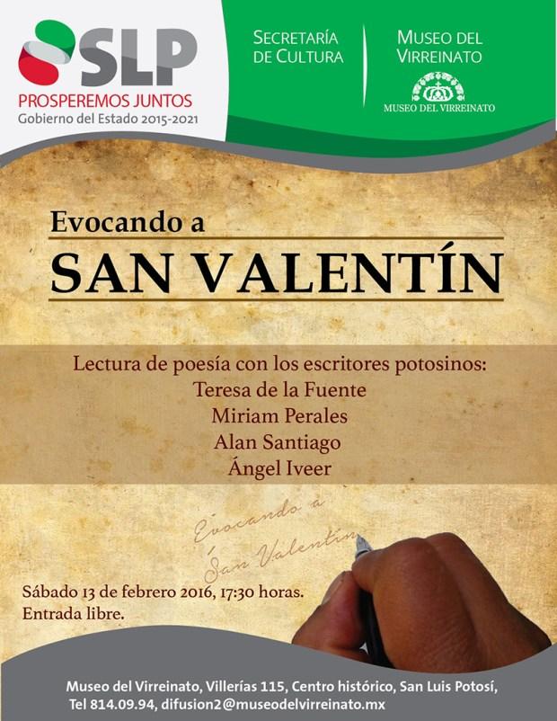 Evocando a San Valentín @ Museo del Virreinato