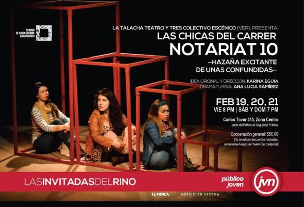 Las chicas del carrer notariat 10 @ Teatro El Rinoceronte Enamorado