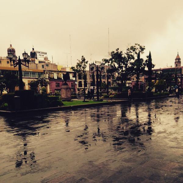 lluvia San Luis POtosí