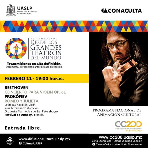 Concierto: Grandes Teatros del Mundo @ Centro Cultural Universitario Bicentenario