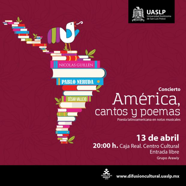 América, cantos y poemas @ Centro Cultural Caja Real