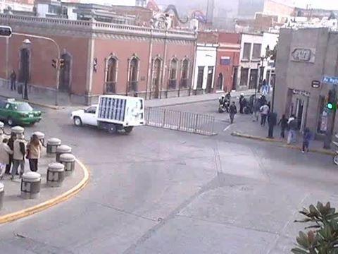 Calles Cerradas Semana Santa 2016 SLP