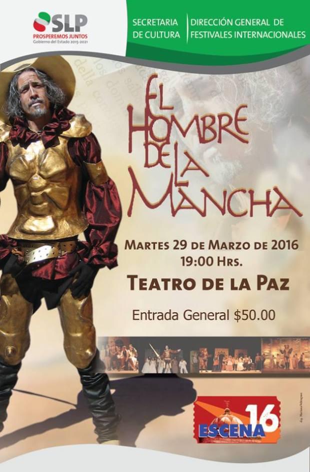 El Hombre de la Mancha @ Teatro de la Paz