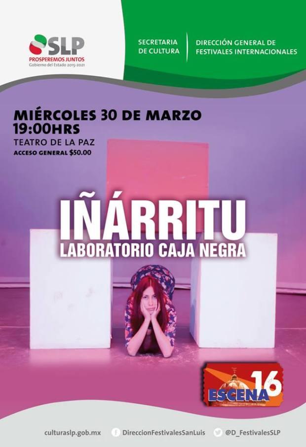 """""""Iñarritu"""" @ Teatro de la Paz"""