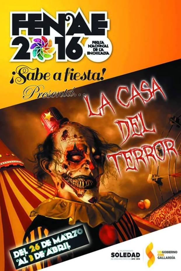 La Casa del Terror en la Feria de la Enchilada @ Feria de la Enchilada | Soledad de Graciano Sánchez | San Luis Potosí | México