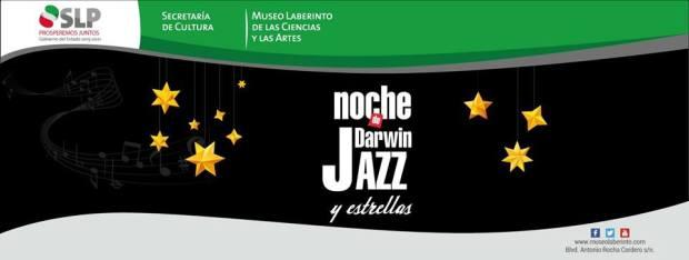 Noche de Darwin, jazz y estrellas @ Museo Laberinto de las Ciencias y las Artes