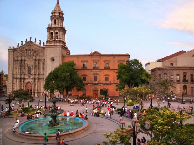 San Luis Potosí Plaza Carmen