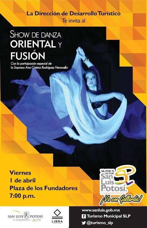 Show de Danza Oriental y Fusión @ Plaza de los Fundadores
