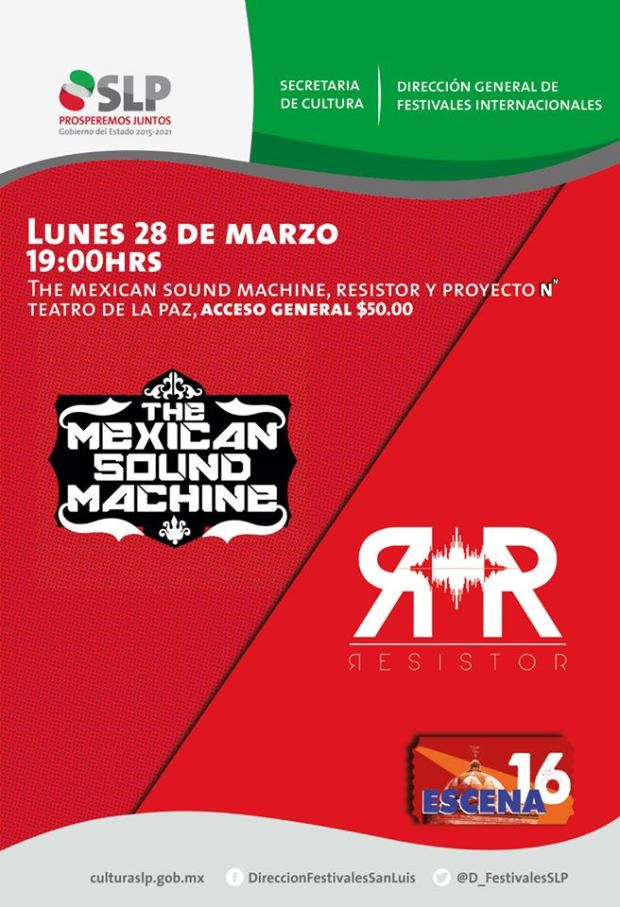 The Mexican Sound Machine @ Teatro de la Paz