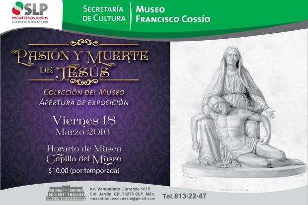 Pasión y Muerte de Jesús (exposición) @ Museo Francisco Cossío