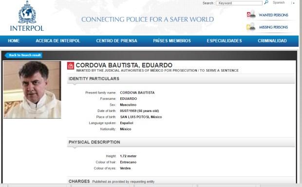 Cordova Interpol