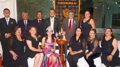Photo of El Club altruista Sertoma Tangamanga realizó cambio de mesa directiva