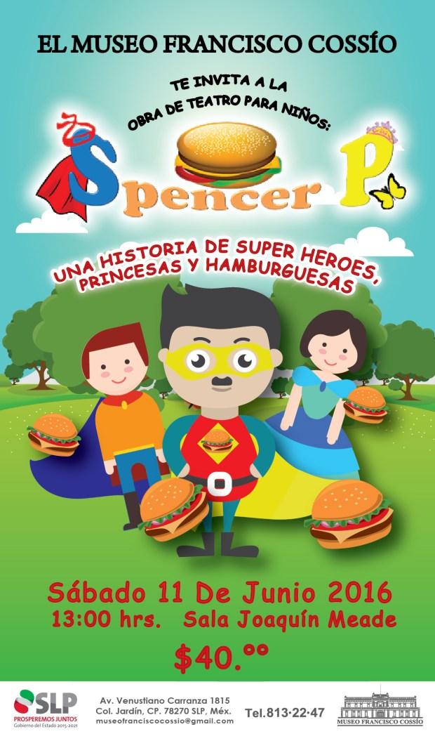 Spencer P. se presenta en el Museo Francisco Cossío @ Museo Francisco Cossío