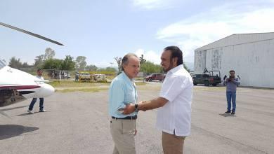 Photo of Gobernador de SLP usa helicóptero oficial para irse a fiesta privada